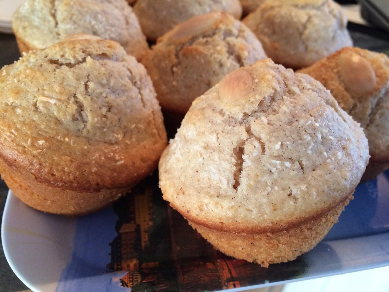 Ořechové muffiny se skořicí recept