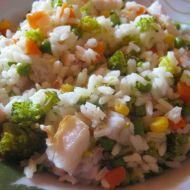 Zeleninové rizoto s treskou recept