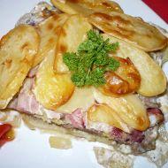Zapečené brambory s mletým masem recept
