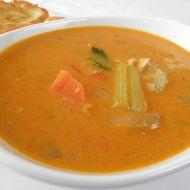Čočková polévka se zeleninou na indický způsob recept