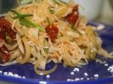 Zelný salát se sušenými rajčaty recept