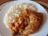 Kuřecí stehna na zelenině recept