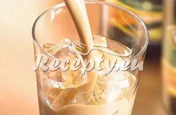 Teplý mléčný koktejl recept  teplé nápoje