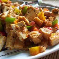 Sója s tofu na kari recept