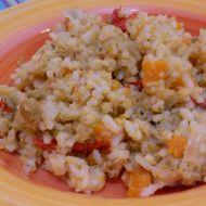Rychlé zeleninové rizoto recept