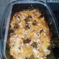 Brambory zapečené s brokolicí a sýrem recept