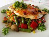 Kuřecí pikantní minutkový plátek se zeleninou recept