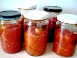 Zavařená a v troubě pečená rajčata recept