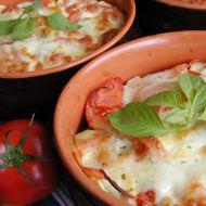 Těstoviny zapečené s kuřecím masem a mozzarellou recept  Vareni ...
