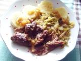 Krůtí maso pečené s rozmarýnem recept
