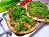 Turecká pizza (Lahmacun) recept