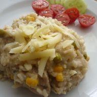 Krémové rizoto s kuřecím masem recept