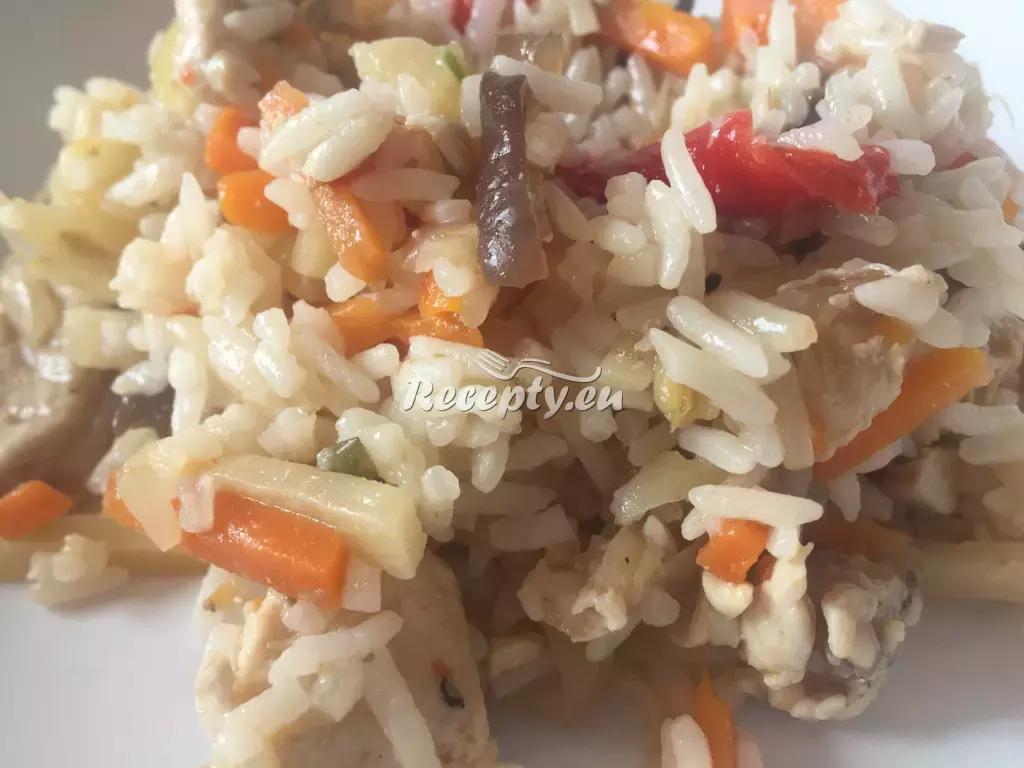 Rizoto s houbami a parmezánem recept  rýžové pokrmy