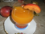 Broskyňový nápoj recept