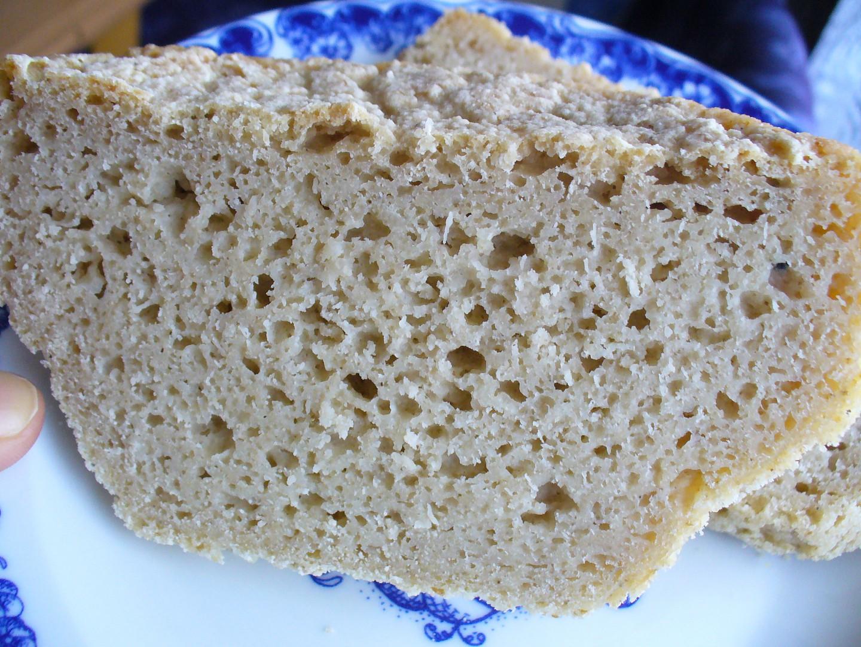 Bezlepkový kváskový chléb recept