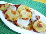 Zapečené brambory se zelím recept