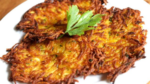 S Klárou v kuchyni #9: Zeleninové bramboráky