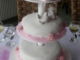 Svatební dort 3patrový recept