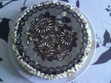 Krajkový dort recept