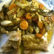 Kapr na zelenině recept