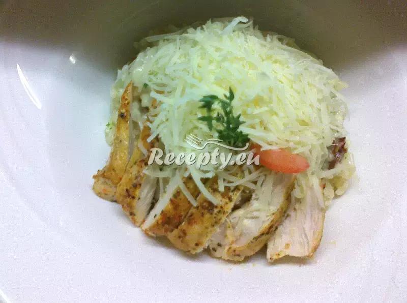 Italské rizoto s kuřecím masem recept  rýžové pokrmy
