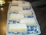 Čistě kokosové řezy recept