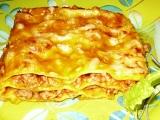 Lasagne s dýňovou omáčkou recept