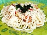 Špagety v rajčatovo  cuketové omáčce recept