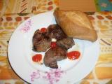 Maso z divočáka s česnekem recept