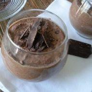 Čokoládový mousse recept