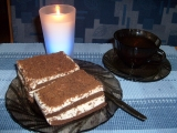 Kakaový dortík s krémem z mascarpone recept