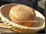 Žitný zrníčkový chlebík recept