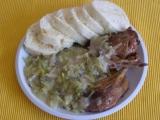 Dušená kachna v zelí recept