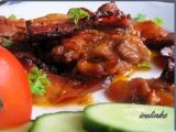 Pečená kuřecí stehna s vůní domácího uzeného recept ...