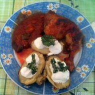 Pikantní kuře s pečenými brambory recept