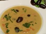 Fazolová polévka s kokosovým mlékem recept