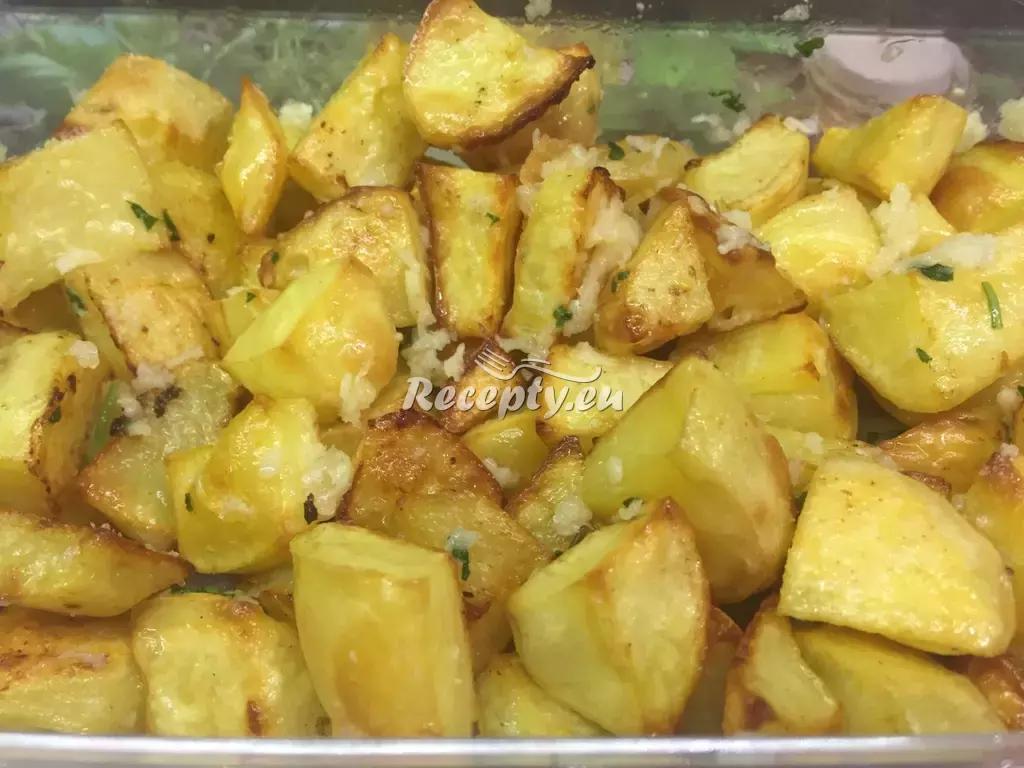 Brambory pečené v troubě recept  bramborové pokrmy