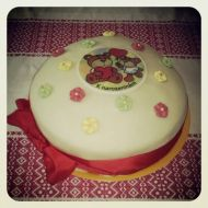 Marcipánový tvarohový dort recept