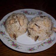 Houbové rizoto s krůtím masem recept