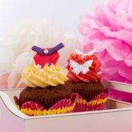 Princess cupcakes recept