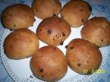 Snídaňové bochánky s čokoládou recept