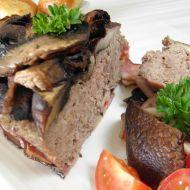 Zapečené mleté maso se žampiony recept
