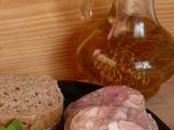 Voňavá dvoubarevná tlačenka recept