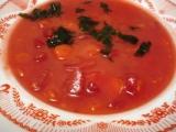 Dýňová polévka s červenou řepou recept