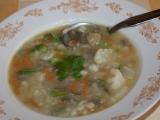 Květáková polévka s hlívou recept