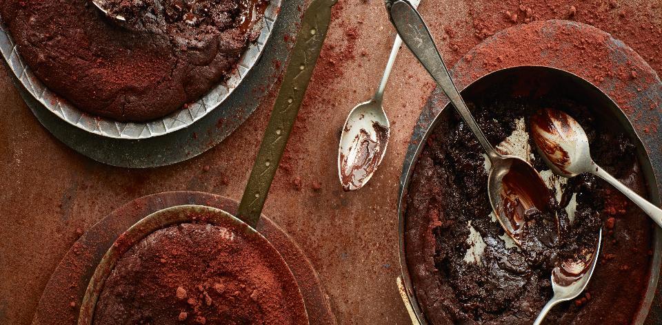 Rumové brownies s rozinkami