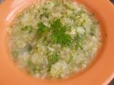 Kapustová polévka s hráškem recept
