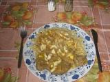 Vepřová krkovice na zelenině a hořčici recept