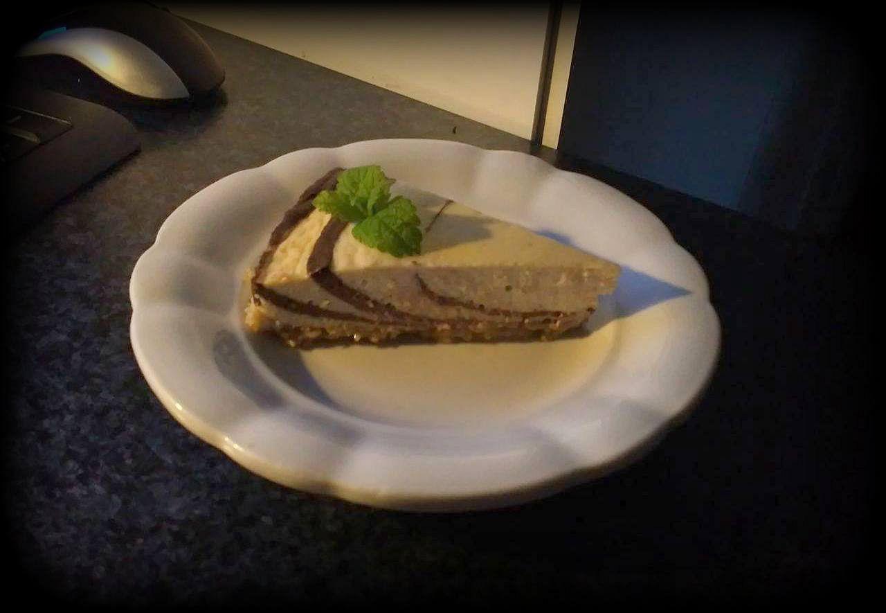 Fitness tvarohový koláč recept