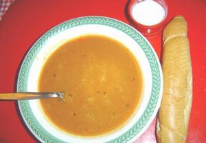 Dršťková polévka z hlívy ústřičné